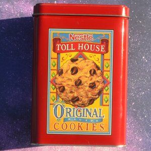 Vintage 1970's Nestle Toll House Collectible Tin